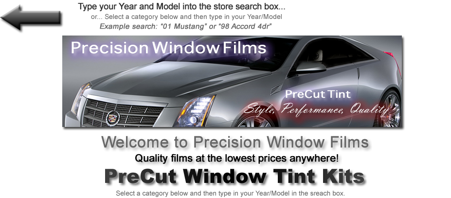 Precision Window Films