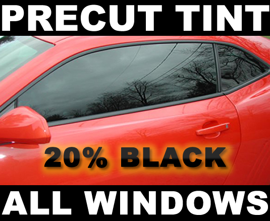 PreCut Window Film 5/% VLT Limo Black Tint for Mazda 2 Hatch 2010-2015